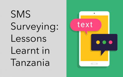 SMS Surveying: Lessons Learnt in Tanzania