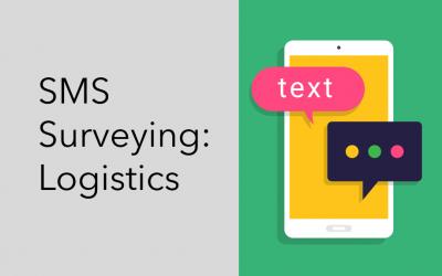 SMS Surveying: Logistics