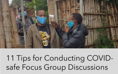 11 Tips for Conducting COVID-safe Focus Group Discussions