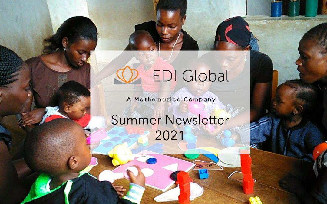 EDI Global Newsletter – Summer 2021
