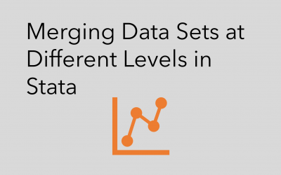 Merging Data Sets at Different Levels in Stata